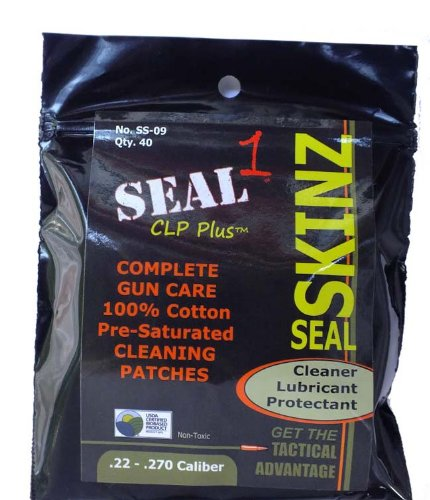 SEAL 1 SS-09 Skinz Pre-Saturated Cleaning Patches