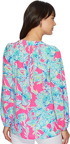 Lilly Pulitzer Women's Elsa Top Raz Berry Lobsters in Love Small by Lilly Pulitzer (Image #2)