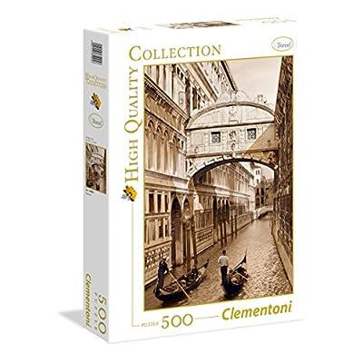 Clementoni 35005 High Quality Collection Puzzle Venezia 500 Pezzi