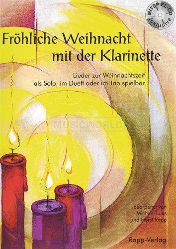 Feliz Navidad Clarinete.Rapp Verlag Feliz Navidad Clarinete Con Cd Horst Rapp