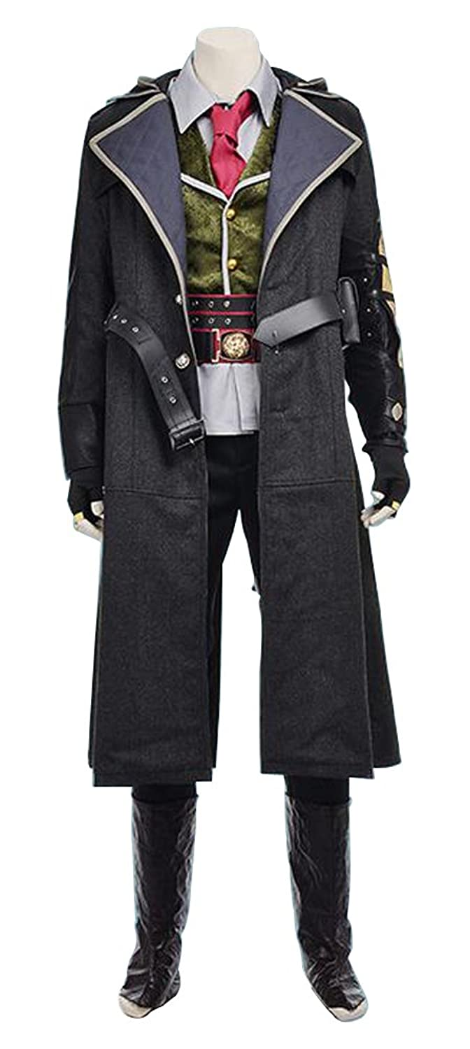 Men's Assassin's Creed Jacob Frye Cosplay Costume  Set