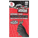 Big Time Products Grease Monkey Disposbale Latex Gloves (Large) - Pack of 100