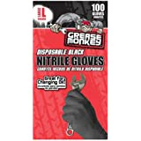Grease Monkey Disposbale Nitrile Gloves, Large - Pack of 100