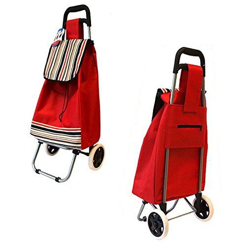 Einkaufstrolley Einkaufsroller Einkaufswagen Shopping Trolley - 40L