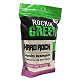 Rockin' Green Natural HE Powder Laundry Detergent for Hard Water, Perfect for Cloth Diapers, Up to 90 Loads Per Bag, 45 oz, Lavender Mint Revival Scent