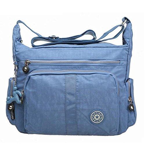 Bagtopia Large Capacity Casual Crossbody Bag Waterproof Nylon Shoulder messenger Bags Purse for women