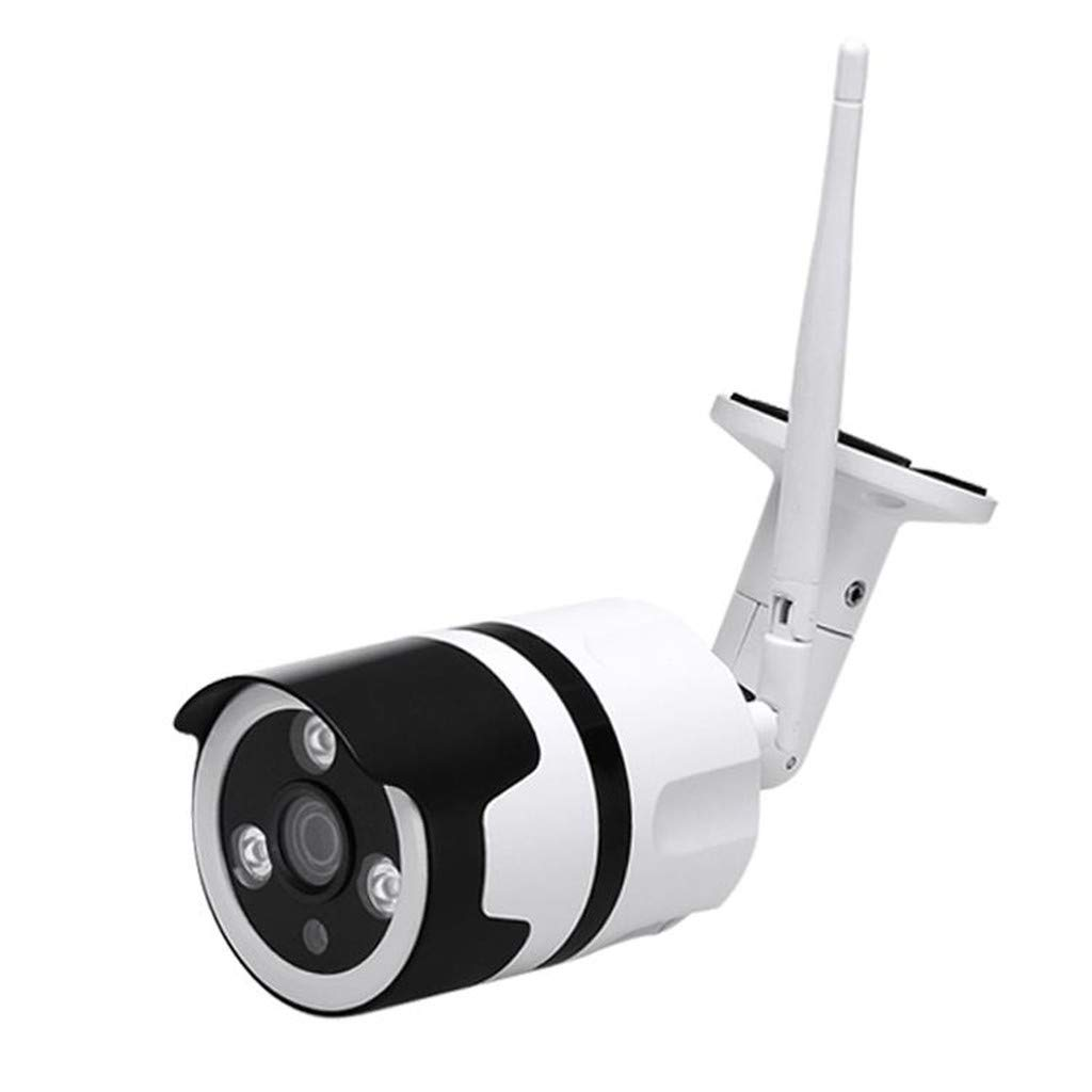 Unine Outdoor/Indoor Wireless 2 Way Audio Night Vision Camera System,Home Security Hd720P WiFi Ip66I Waterproof Bullet Ir Monitor with Sd Card Hard Drive Doorbell