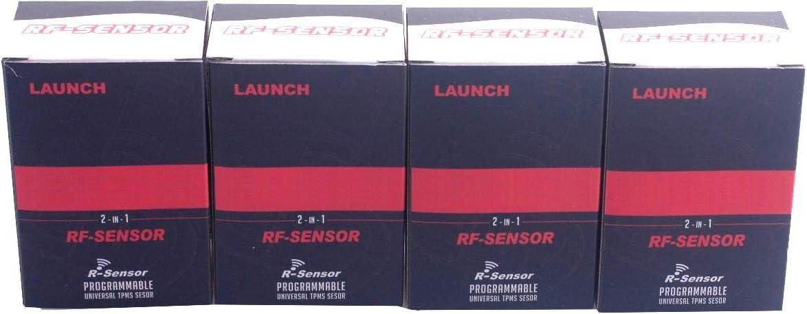 Valve m/étallique 4X RDKS//TPMS Capteur pour Opel Corsa E 1.4 Turbo MAL Electronics GmbH