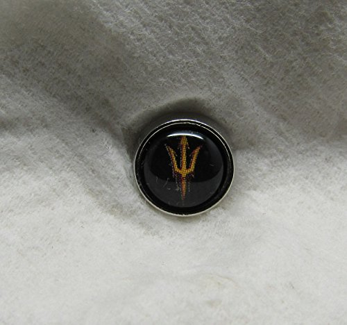 Arizona State University ASU College Sun Devils Floating Charm / Add to Your Origami Owl - College State Stores