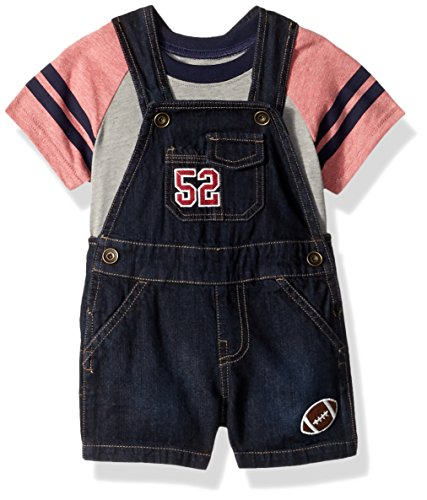 The Children's Place Baby Boys' Shortalls, CLASSICRED 86131, 12-18MOS