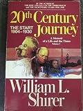 Twentieth Century Journey, William L. Shirer, 0553342045