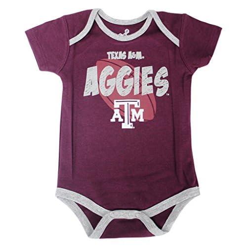 0319aa34110f Genuine Stuff Youth Texas A M Aggies 3 Pack Creeper Body Set ...