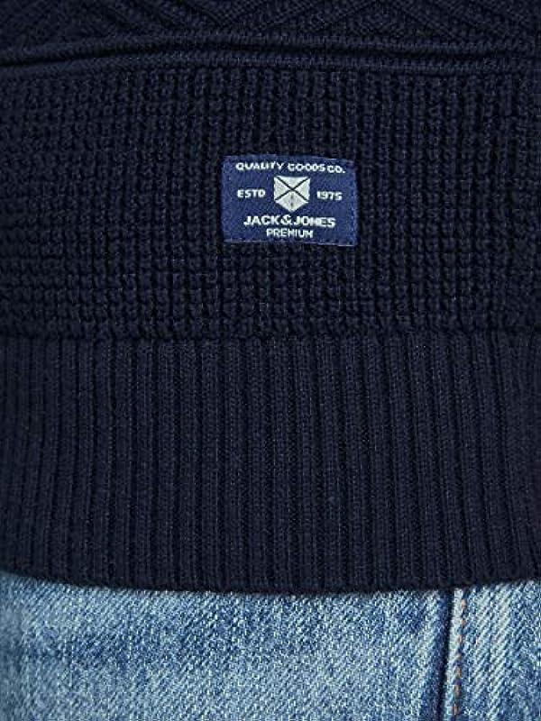 Jack & Jones męski sweter Jprbluscott Knit Crew Neck: Odzież