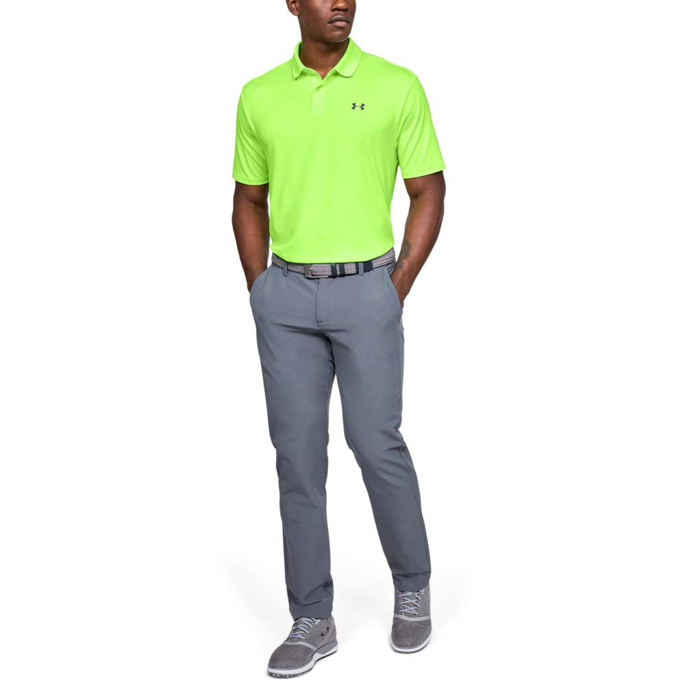 Under Armour Mens Performance Polo 2.0, Guardian Green (315 ...