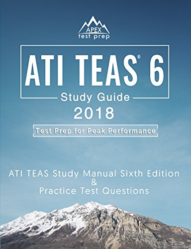 amazon com ati teas 6 study guide 2018 ati teas study manual sixth