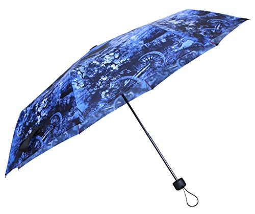 Generic Automatic Open Foldable Umbrella Size 62inch Color Blue by Generic