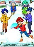Japanese Anime Calendar 2015 Inazuma Eleven & Inazuma Eleven GO #K086