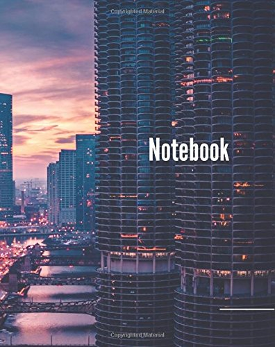 Read Online Notebook: 150 pages, 8x10 Inch College Ruled Composition Notebook For Writing. Great For Teenagers (Chicago) PDF