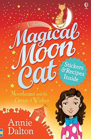 book cover of Moonbeans and the Circus of Wishes