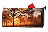 The Light Within Personalized Mailbox Cover Magnetic Summer Vinyl with Magnetic Strips for Steel Standard Mailbox