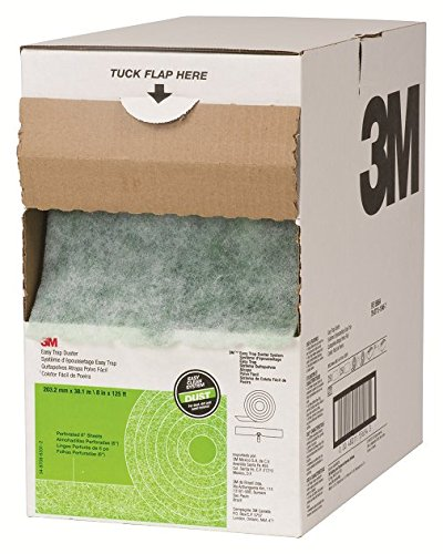 "3M 55654W Easy Trap Duster, 8"" x 125ft, White, Roll"