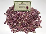Africa Red Ruby&Sapphire Fancy Mixed Lot of 100 CTS Gemstone Cabochon Certified