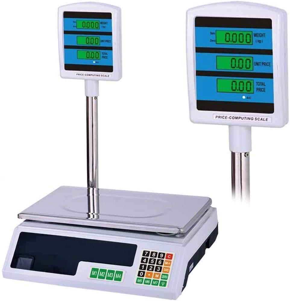 Comprare Web - Báscula electrónica digital frontal retro profesional máx. 40 kg cálculo del precio