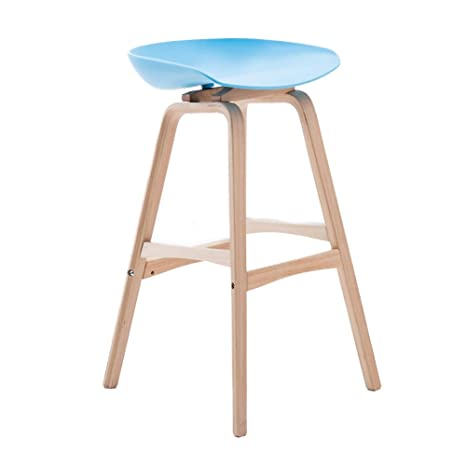Magnificent Amazon Com Solid Wood Bar Stools Creative Bar Stool High Gmtry Best Dining Table And Chair Ideas Images Gmtryco