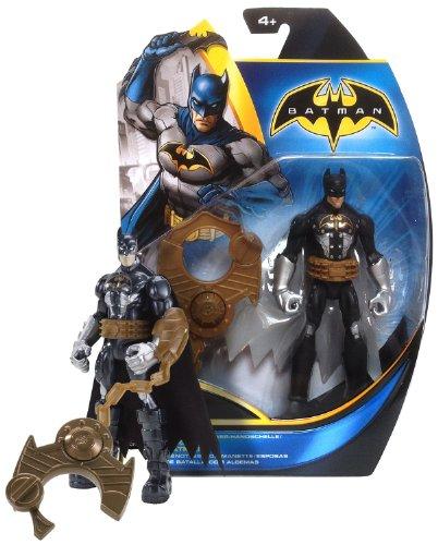 "Capture Cuff Batman ~6"" Figure w/ Giant Handcuff: Batman Power Attack Mission Series"