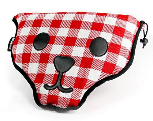 SUCK UK Bear Skin Gingham Picnic Blanket (Uk Garden Furniture Plastic Cheap)