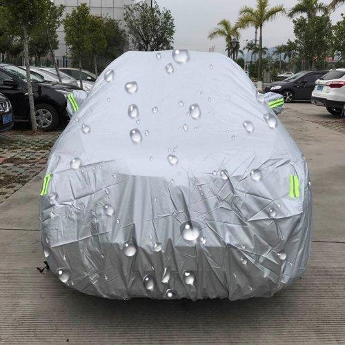 XXL wasserdichte KFZ Autoplane mit Reflektoren,Autogarage,5.3m X 2.0m x 1.9m