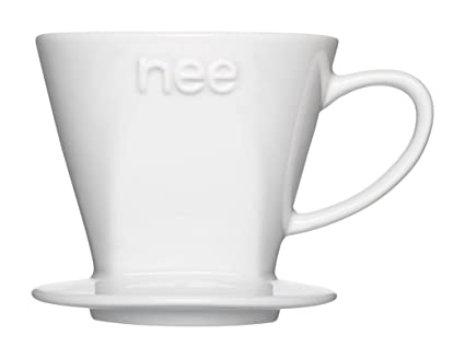 Amazon Com Nee Porcelain Coffee Dripper And Melitta Cone Coffee