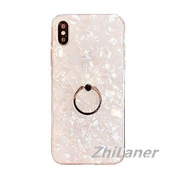 23e7f6d54a ZhiLaner iPhone X ケース iPhone8ケース iPhone7 リング付き タイプ カバー スマホケース iPhone6  iPhone6Plus iPhone7 iPhone7Plus