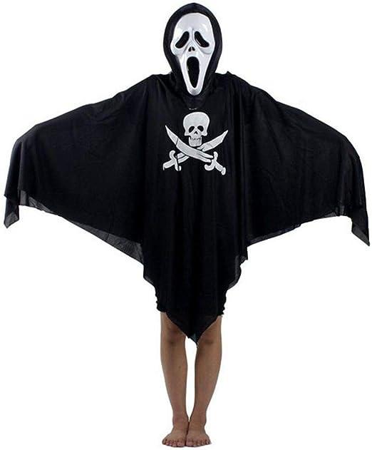 TYUBN Disfraz de Fantasma de Pirata de Halloween Creativo Disfraz ...
