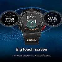 Zerone Fitness Tracker Reloj deportivo, IP68 impermeable al ...