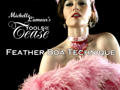 Tools of the Tease - Feather Boa Technique with Michelle (Buy Feather Boa)