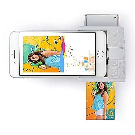 prynt impresora Pocket para iPhone, color blanco: Amazon.es ...
