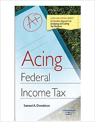 Acing federal income tax acing series kindle edition by samuel acing federal income tax acing series 1st edition kindle edition fandeluxe Images