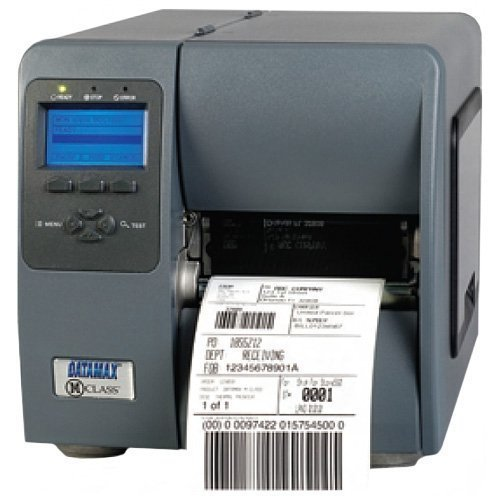Datamax KD2-00-48000Y00 M-4206 M-Class Printer, SER/PAR/USB/Ethernet, 203 DPI, Graphic LCD Display, 6 IPS, 64 MB Graphic Memory, Fixed Media Hanger, Power Cord, 4