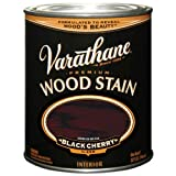 cherry furniture paint - Varathane 241411H Premium Wood Stain, Quart, Black Cherry