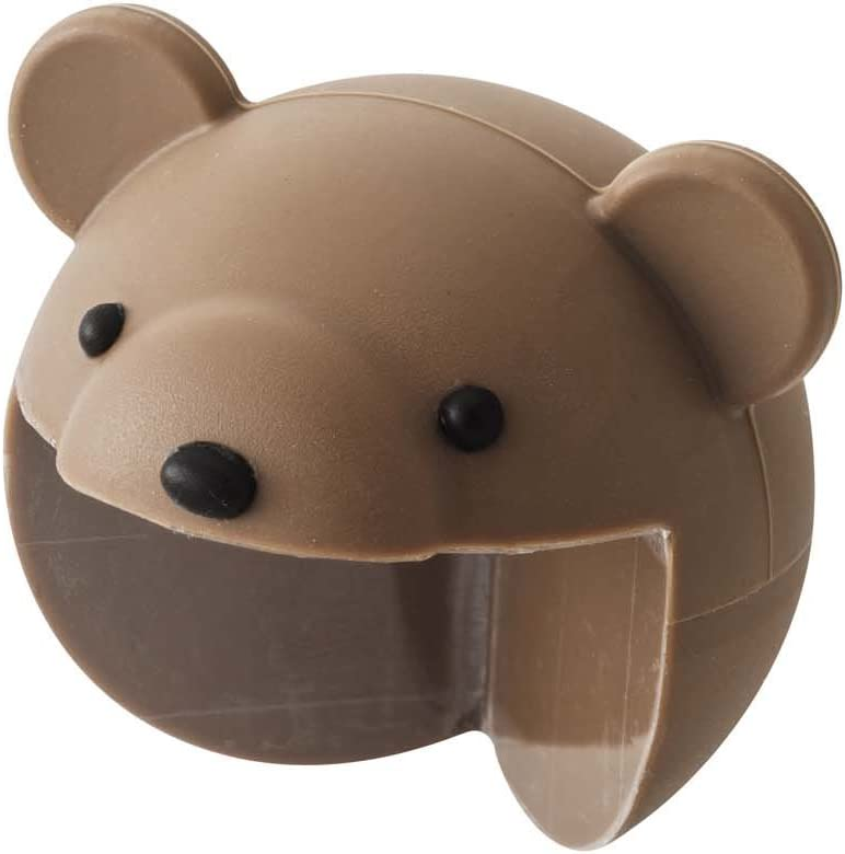 YAMAZAKI home Bear Corner Cushion Cover – Kids Table Safety Proof Protector