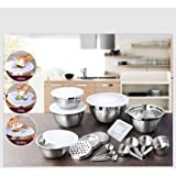 Home Kitchen Best Deals - Better Homes and Gardens 21 Piece Stainless Steel Measure and Mix Kitchen Set
