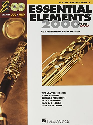 [Essential Elements for Band - Book 1 with Eei: Eb Alto Clarinet [With CDROM]] [Author: Various] [May, 1999]