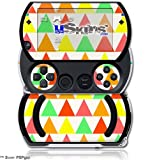 Triangles Citrus - Decal Style Skins (fits Sony PSPgo)