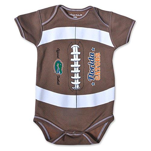 - NCAA Florida Gators Kids MVP Football Bodysuit, 0-3 Months, Brown