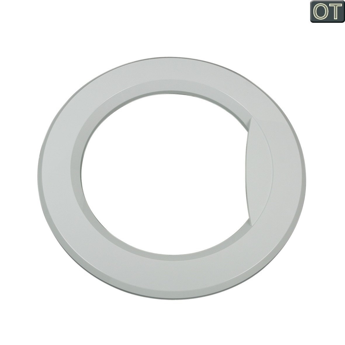 1 Stück Türring Türrahmen Plastik Kunststoff Bullauge für Waschmaschinentür aussen passend für Gorenje Waschmaschine 154520 Dritthersteller
