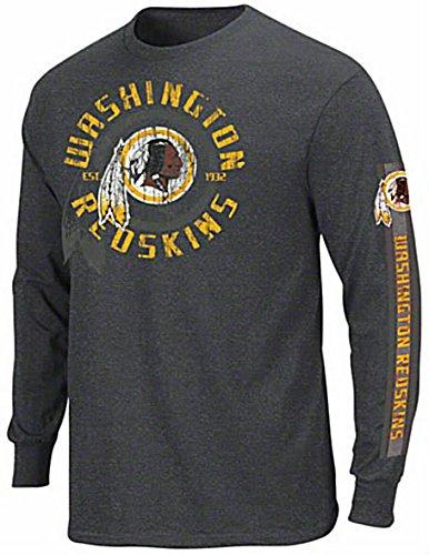 more photos d1182 216bb Washington Redskins NFL Gridiron Touch Long Sleeve Shirt Big & Tall Size 4XL