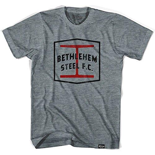 fan products of Bethlehem Steel FC T-shirt, Athletic Grey, Adult X-Large