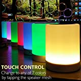 ZHOPPY Night Light Bluetooth Speakers, Touch