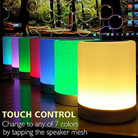 ZHOPPY Night Light Bluetooth Speakers
